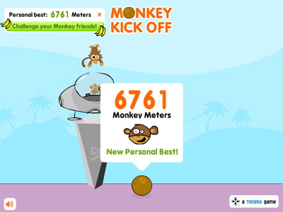 Monkey Kick Off: 6761 Monkey Meters