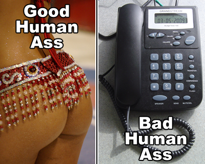 Good Human Ass vs. Bad Human Ass